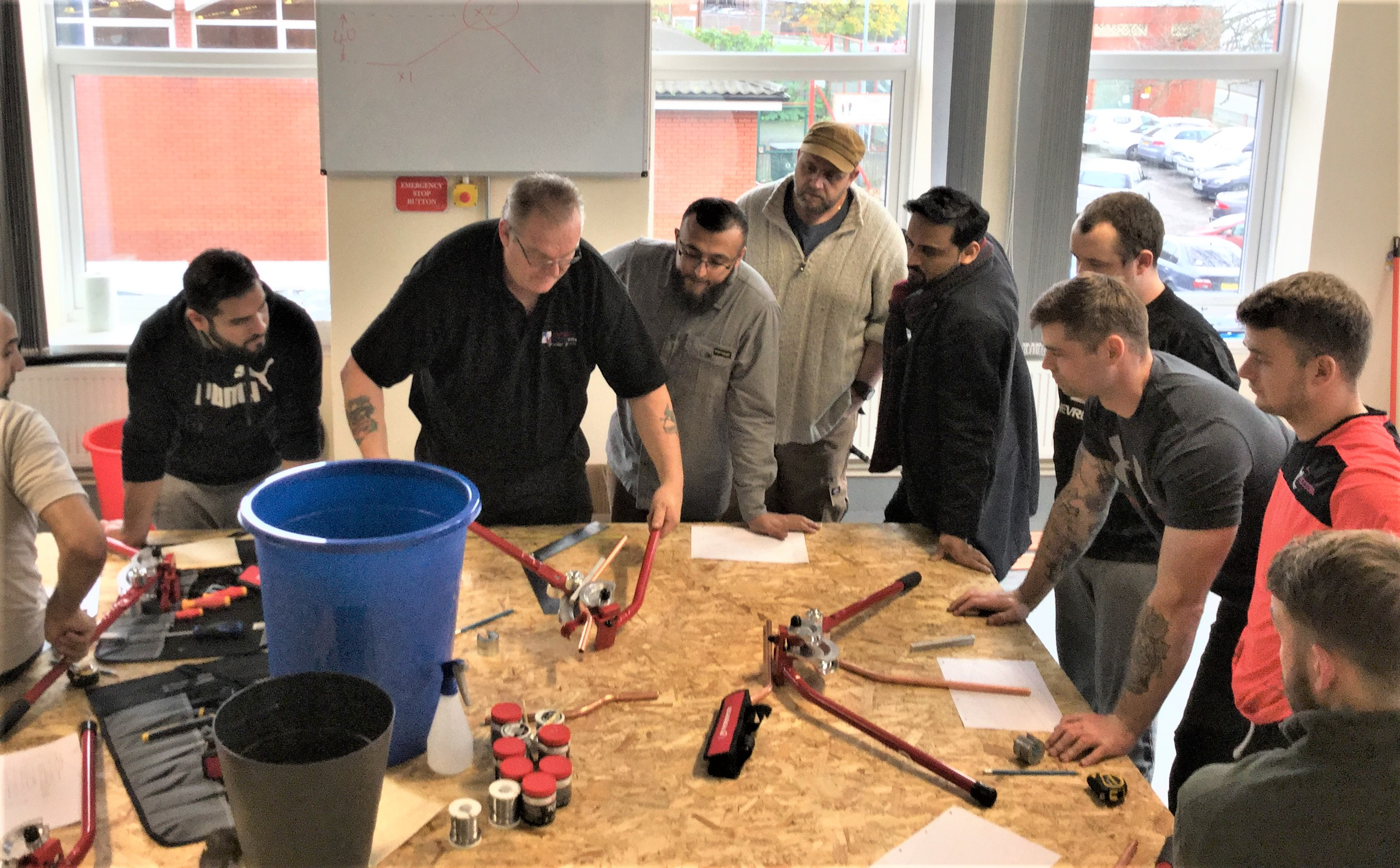 NPG gas and plumbing course