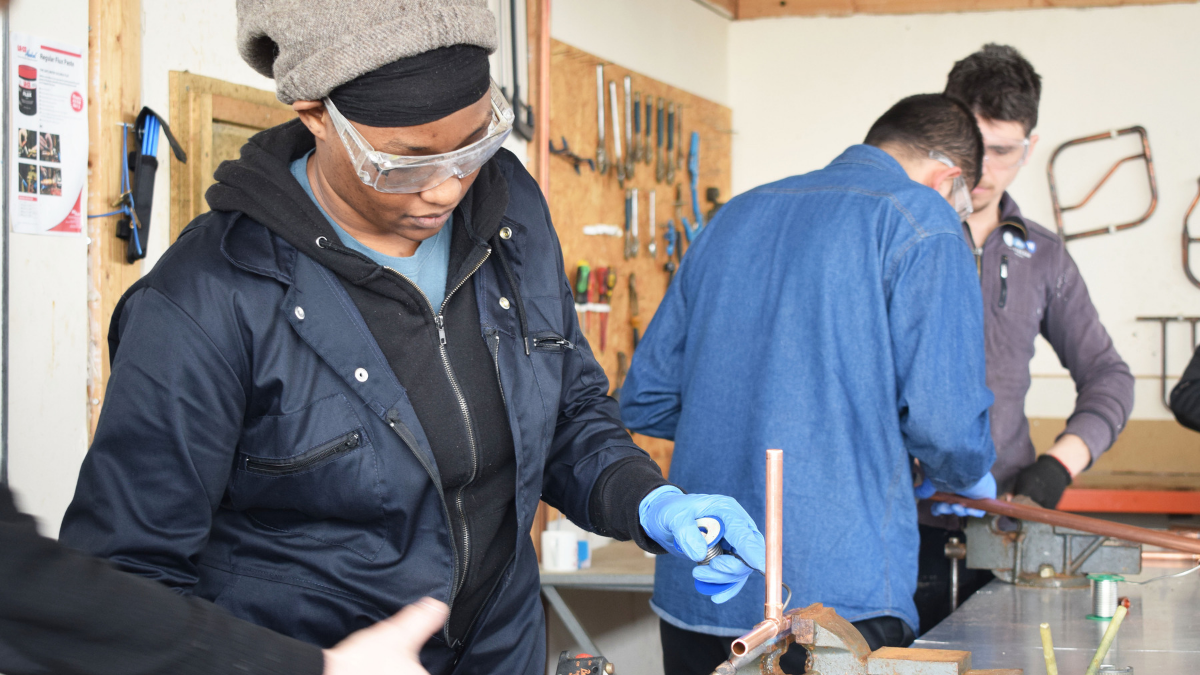 Women In The Trades - Gas Engineering Course