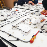 How Much Can I earn As An Electrician - Electrical workshop board