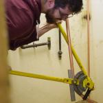 gas engineer pipe bending