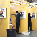 New Year, New Career - Electrical students in workshop bays