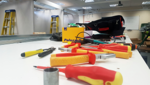 electrical workshop in purley, south london