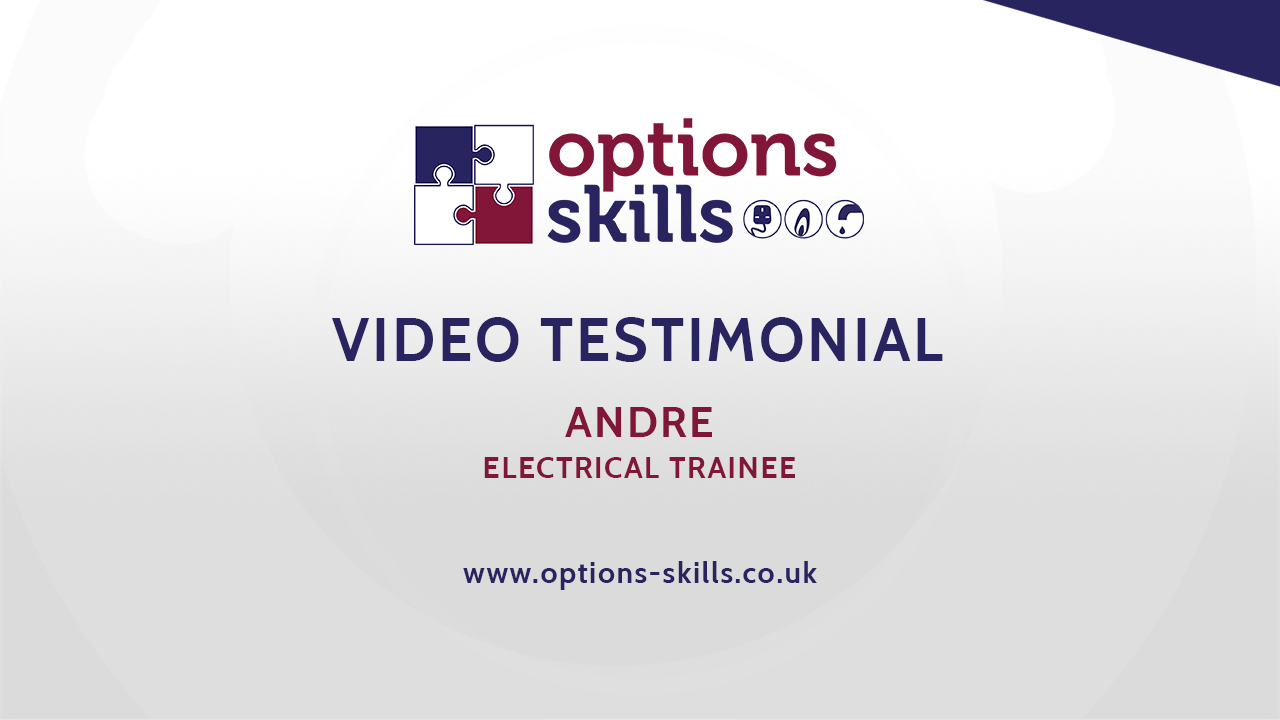Electrical trainee - Andre - Video Testimonial