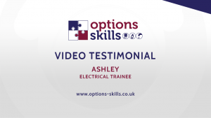 Electrical trainee - Ashley - Video Testimonial