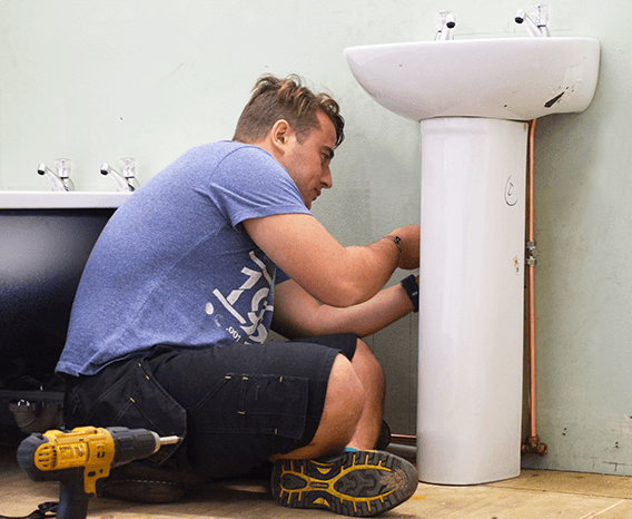 About Options Skills - Plumbing trainee in workshop